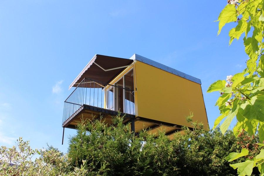 stelzenhaus gl ck holiday home. Black Bedroom Furniture Sets. Home Design Ideas